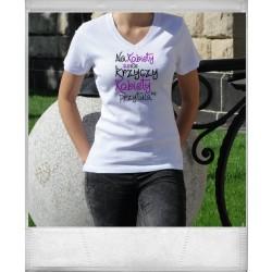 Koszulka Damska - Na kobiety się nie krzyczy