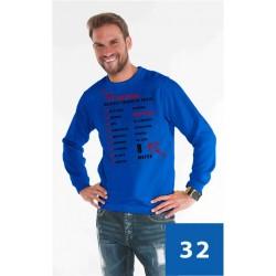 Bluzy weekend męskie - certyfikat najlepszy chłopak na świecie