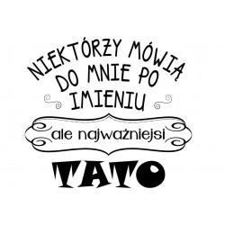Koszulka męska - niektórzy mówią do mnie po imieniu TATO