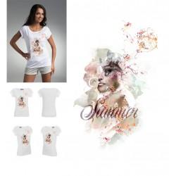 Koszulka Damska - Atrakcyjny Czar 1 Summer