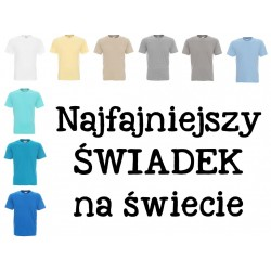 Koszulka męska - Świadek