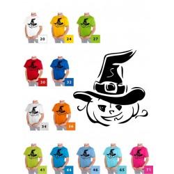Dynia w kapeluszu czarna dziecięca