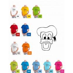 Koszulka dziecięca - Jestem fanem Donalda