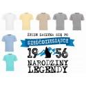 Koszulka męska - Życie zaczyna się po 60