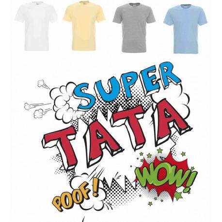 Koszulka męska - Super TATA