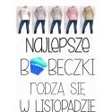 Koszulka Damska - Najlepsze babeczki rodzą się