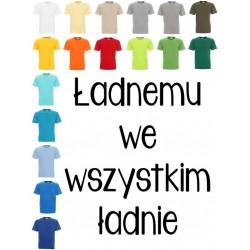 Koszulka męska - Ładnemu we wszystkim ładnie