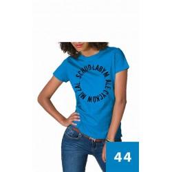 Koszulka Damska - Schudłabym, ale szkoda mi