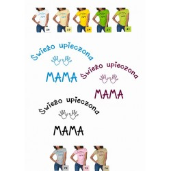 Koszulka Damska - Świeżo upieczona mama