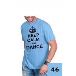 Koszulka męska - Keep Calm and Dance
