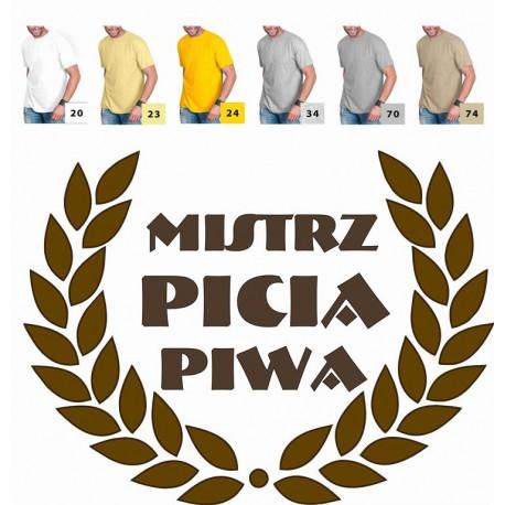 Koszulka męska - Mistrz Picia Piwa