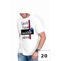 Koszulka męska - Youll never walk alone