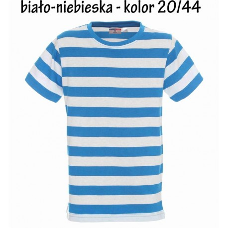 Koszulka dziecięca - w paski bez nadruku