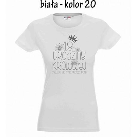 Koszulka Damska - Urodziny Królowej
