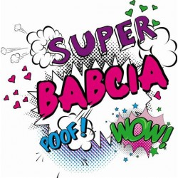 Koszulka damska - Super Babcia 2 kolor