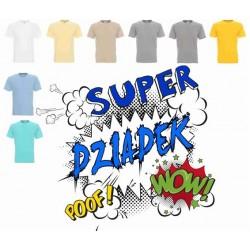 Koszulka męska - Super Dziadek