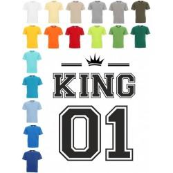 Koszulka męska - King 01