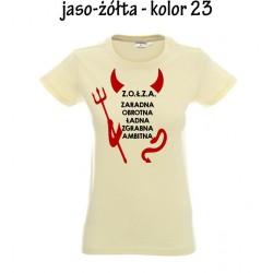 Koszulka damska - Zołza diabełek