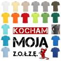 Koszulka męska - Kocham moją zołzę