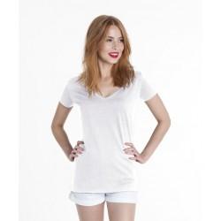 Koszulka damska - ladies' v-neck bez nadruku