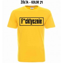 Koszulka męska - F*cktycznie