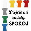 Koszulka Damska - dajcie mi święty spokój