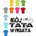 Koszulka dziecięca - Mój tata wymiata