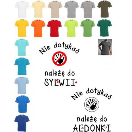 Koszulka męska - nie dotykac naleze do ...
