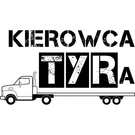 Koszulka męska - Kierowca Tyra cieżarówka
