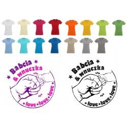 Koszulka Damska - Babcia i wnuczka love