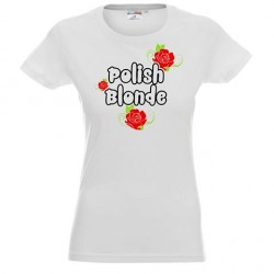 Koszulka Damska - Polish Blonde