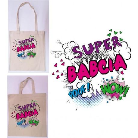 Torba z nadrukiem - SUPER BABCIA torba