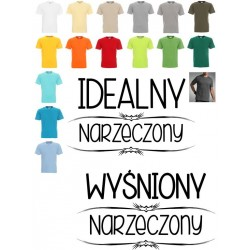 Koszulka męska - Idealny narzeczony