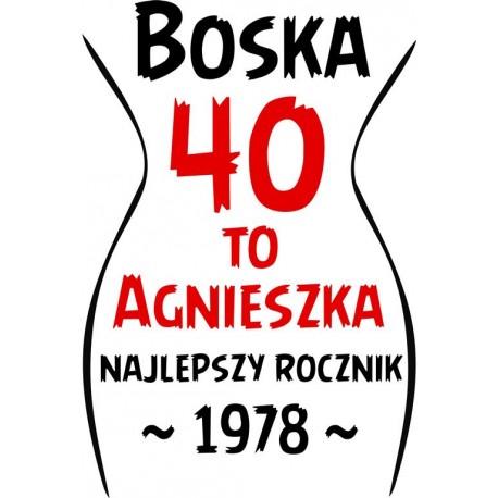 Koszulka Damska - Boska ... to ja