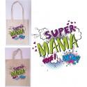 Torba z nadrukiem - Super mama