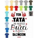 Koszulka męska - Ten TATA ma najlepsze dzieci