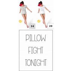 Koszulka damska - Pillow Fight Tonight