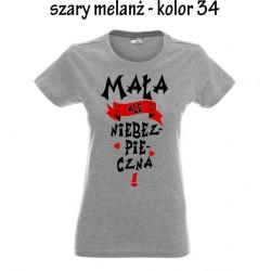Koszulka damska -  Mała ale niebezpieczna