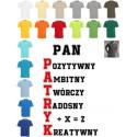 Koszulka męska - Pan Patryk (dowole imię)