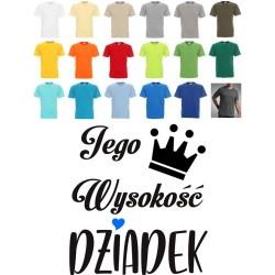 Koszulka męska - Jego Wysokość Dziadek