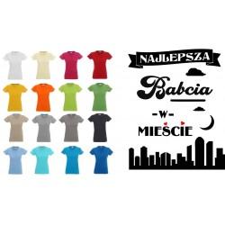 Koszulka Damska - Najlepsza babcia w mieście