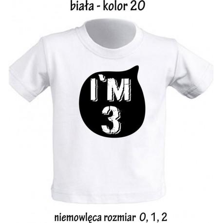 Koszulka dziecięca na urodziny - IM 3