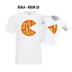 Koszulka męska - Pizza rodzinna