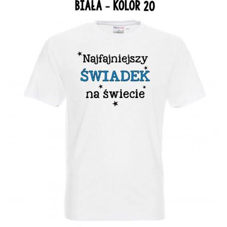 Koszulka Męska - Najfajniejszy świadek na świecie