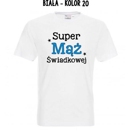Koszulka Męska - Super Mąż Świadkowej