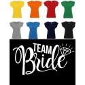 Koszulka Damska - Bride Team na biało