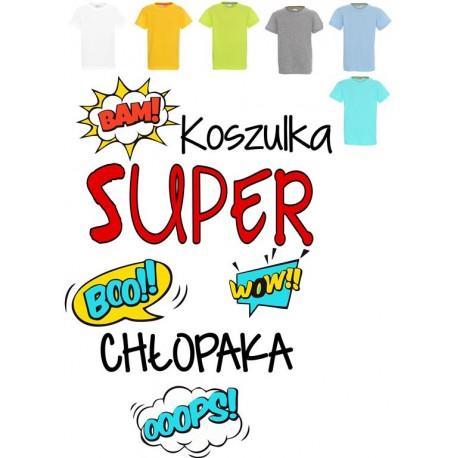 Koszulka dziecięca - Koszulka Super chłopaka