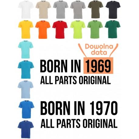 Koszulka Męska - Born in ...