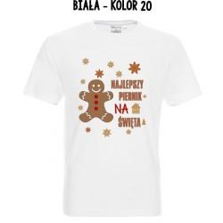 Koszulka Męska - Najlepszy piernik na święta On