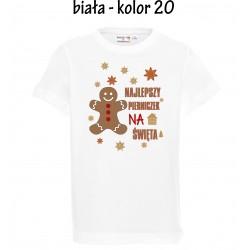Koszulka dziecięca - Najlepszy pierniczek na święta
